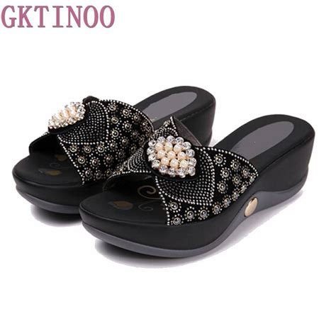 sandals comfortable geuine leather fashion s casual shoes summer sandals plush size