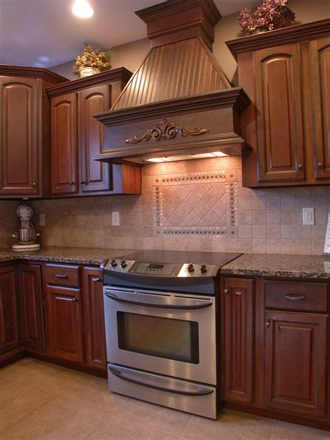 Range In Cabinet by Custom Wood Range To Match Cabinetry Kitchens
