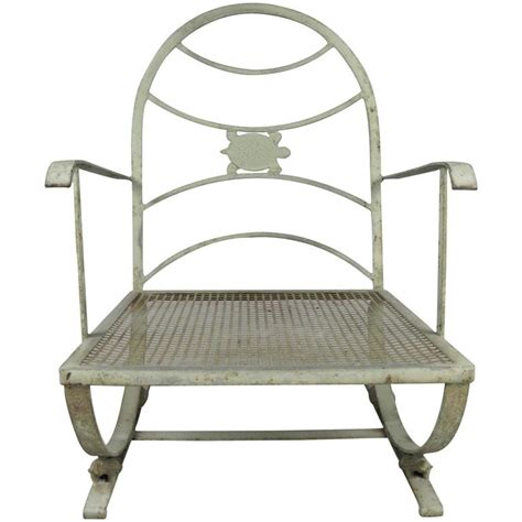 Turtles Chair by Vintage Wrought Iron Turtle Lounge Chair At 1stdibs