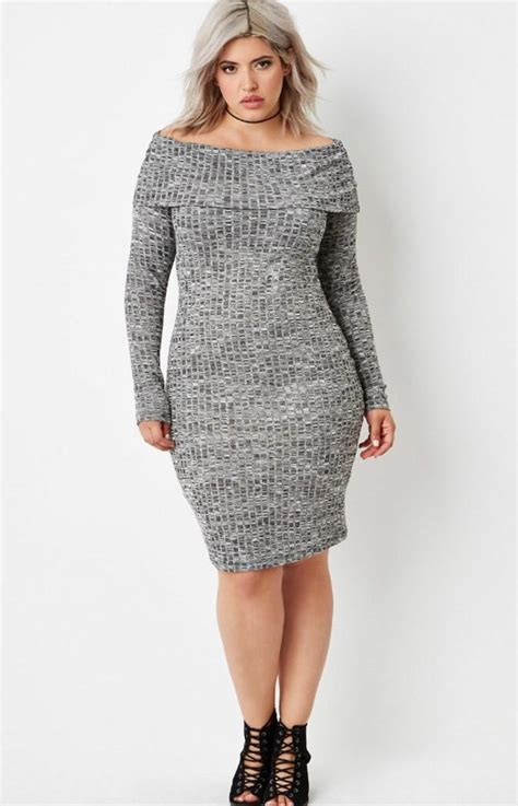 Sweater Dresses by Sweater Dress For Plus Size Pluslook Eu Collection