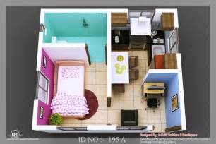 free 3d designs 3d isometric views of small house plans kerala home
