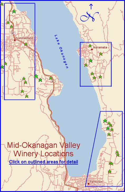 printable map kelowna bc s mid okanagan valley wineries map to winery locations