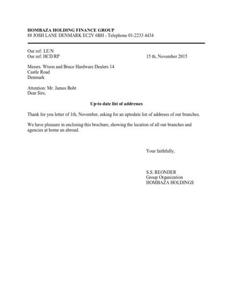 Square Block Style Business Letter Kumpulan Bentuk Surat Lengkap
