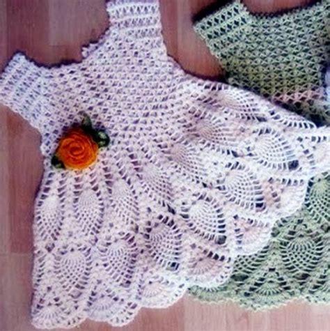 vestidos tejidos a crochet para bebes imagenes de vestidos tejidos a crochet para bebes hermosos