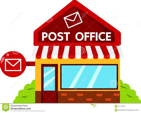clipart of post office clipartsgram
