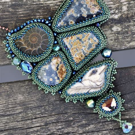 beaded embroidery seed bead embroidery jewelry jewelry