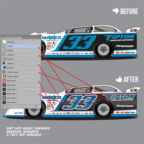 design graphics pack racing graphic styles pack 1 school of racing graphics