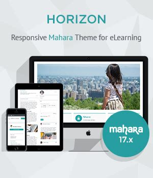 theme creator horizon demos elearning themes