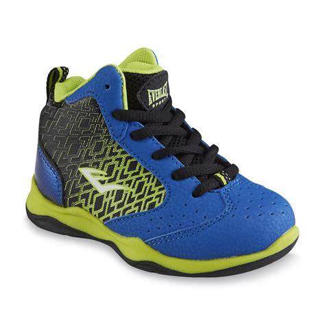 kmart basketball shoes everlast 174 sport toddler boy s code blue black green