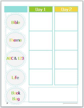 bible lesson plan template god s explorers preschool curriculum