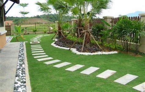 Simple Garden Landscaping Ideas Modern Garden Moderni