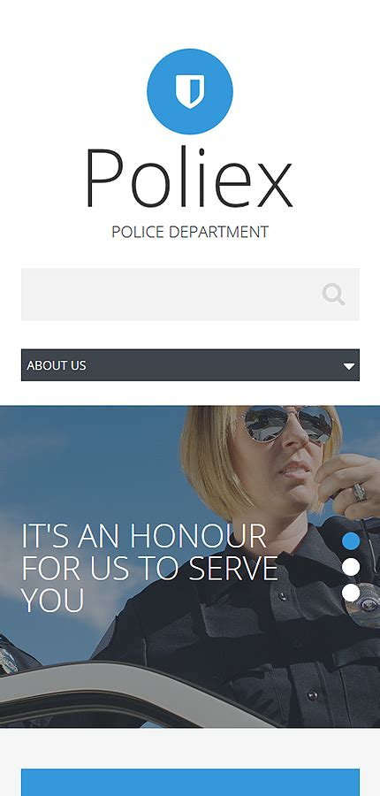 templates for police website police department website template website templates