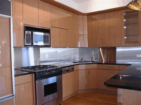 metallic tile backsplash ideas smooth glossy white floor