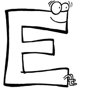 Kostenlose Vorlage Buchstaben Buchstaben Lernen Kostenlose Malvorlage Buchstabe E Zum Ausmalen Leifi Mira