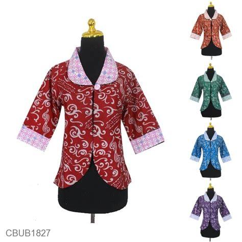 Bolero Bobal Bolak Balik Kawung bolero bolak balik motif kawung warna kombinasi rompi