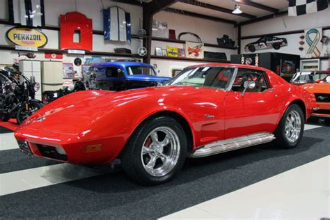 automobile air conditioning repair 1973 chevrolet corvette electronic throttle control no accidents auto a c t tops side exhaust pipes polished wheels serviced