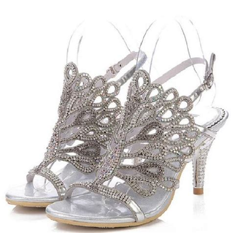 buy wholesale silver shoes kitten heel from china