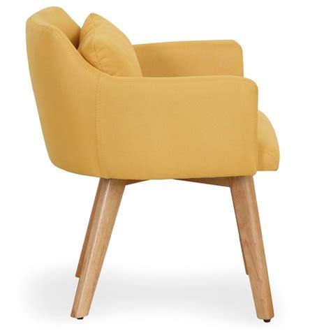fauteuil 70 cm fauteuil scandinave quot alan quot 70cm jaune
