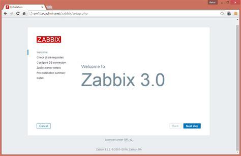 tutorial zabbix 3 0 如何在ubuntu 14 04 lts和debian 8 7安装zabbix服务器3 0