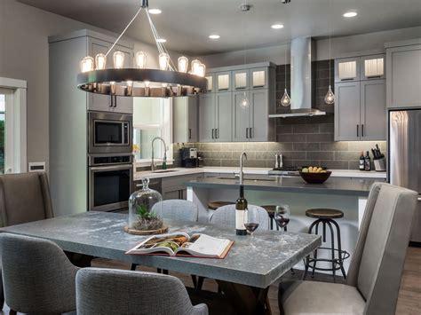 Hgtv Painting Kitchen Cabinets by Gorgeous Gray Kitchen 2014 Hgtv