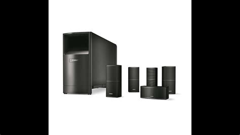 bose acoustimass  series  wired home theater speaker