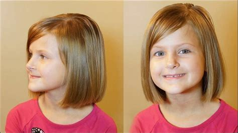bob haircuts for 5 year old tabers short and chic bob hair style elevate little girls how to