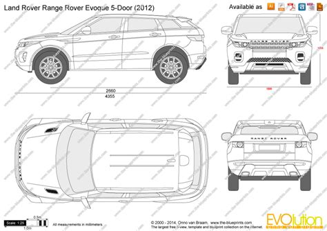 range rover evoque drawing land rover range rover evoque 5 door vector drawing