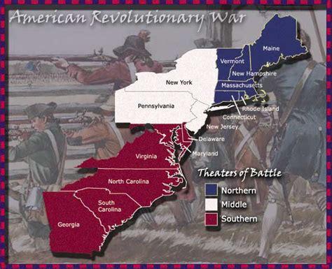 Theaters of Revolutionary War
