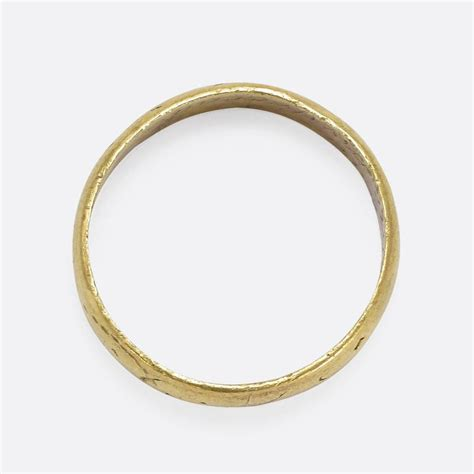 antique 17th century gold posy ring at 1stdibs