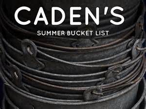 catching caden books caden s summer list by clark cupp