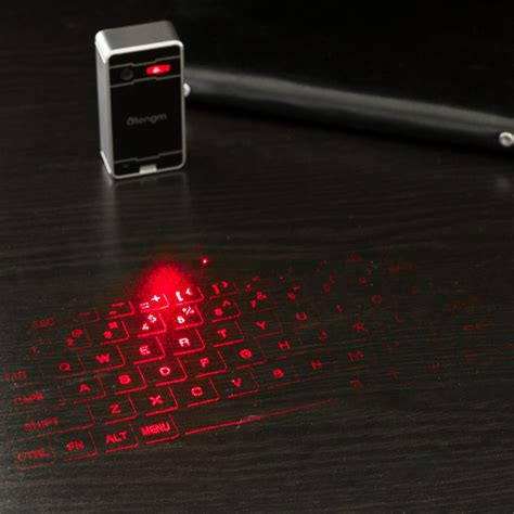 Keyboard Komputer Laser Atongm Bluetooth Vitual Laser Keyboard L1 Compact And