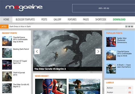 templates para blogger download mogazine responsive blogger template 2014 free download