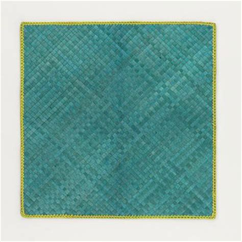 Placemat Pandan Nature Placemat Table Runner 3545cm Brownyellow turquoise pandan place mats modern placemats by cost plus world market