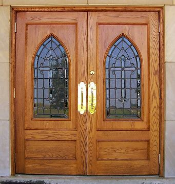 church front doors custom doors stained glass glass wood doors church