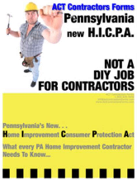 pennsylvania s home improvement consumer protection act