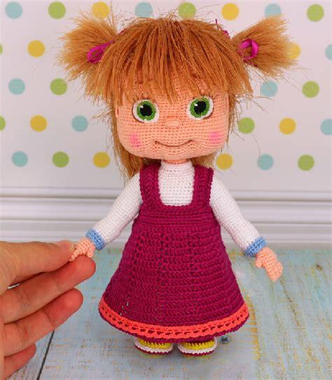 Вязанные куклы крючком видео