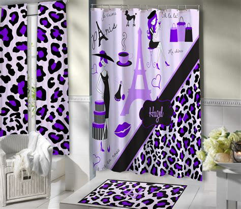 purple themed bathroom lavender paris shower curtains paris themed bathroom sets