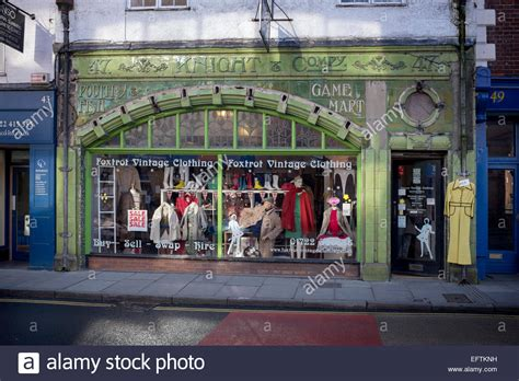 foxtrot vintage clothing store in fisherton