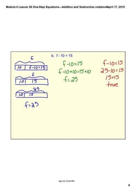 diagram solving equations mod 4 lesson 26