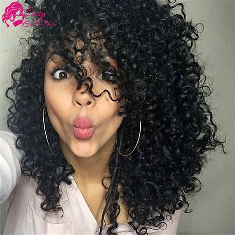 human curly hair for crotchet braiding 7a peruvian kinky curly virgin hair weave kinky curly