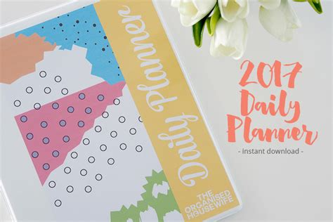 2017 Daily Planner Printable