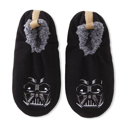 wars slippers wars s darth vader black slipper socks