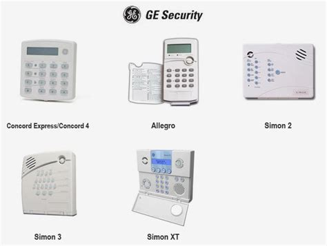 wireless alarm system ge smart home wireless alarm system kit