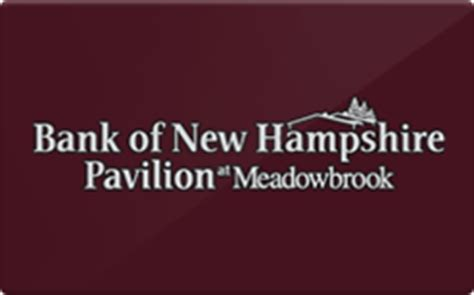Which Banks Sell Gift Cards - sell bank of new hshire pavilion at meadowbrook gift cards raise