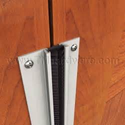 meeting stile with high quality brush for wooden or metal