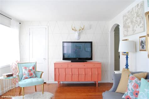 mint living room coral and mint living room reveal clutter