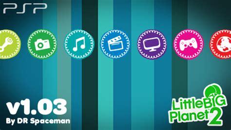 psp themes zip little big planet 2 psp theme by drspaceman on deviantart