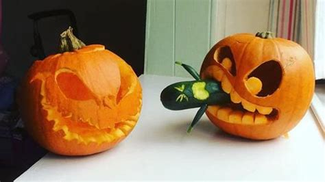 imagenes calabazas terrorificas halloween diez calabazas decoradas en halloween que te sorprender 225 n