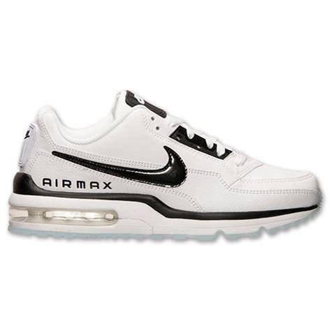 s nike air max ltd 3 premium running shoes white black