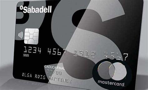 tarjetas banco sabadell el sabadell presenta su tarjeta met 225 lica banqueando